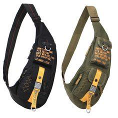 New Men's sling bag sport Travel Chest Shoulder message bag with high quality