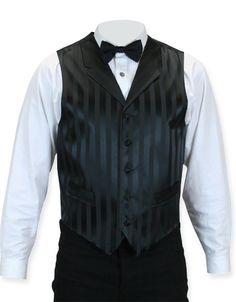 Ragtime Vest- $56.95 Gentleman's Emporium