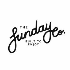 """I am not a fan, the font is difficult to read. I am unsure whether is says """"Sunday"""" or """"Funday"""""""