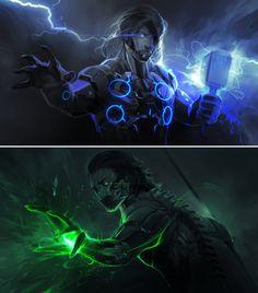 Thor & Loki Tron
