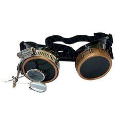 Amazon.com: Steampunk Victorian Goggles welding Glasses diesel punk--gcg: Clothing