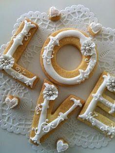 L O V E cookies - lamb & blonde
