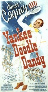 Yankee Doodle Dandy  --  Everyone knows that James Cagney was famous for playing mobsters, but not everyone remembers that he started out as a hoofer. He was a wonderful dancer and if you've never seen his musicals then you've gotta check them out.  Especially, Yankee Doodle Dandy and Seven Little Foys.  He won an academy award for Yankee Doodle, it's a great movie.