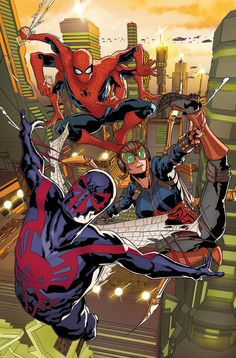 Spider-Man 2099 #5 by Rick Leonardi