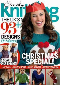 Revista simply knitting- Especial Navidad