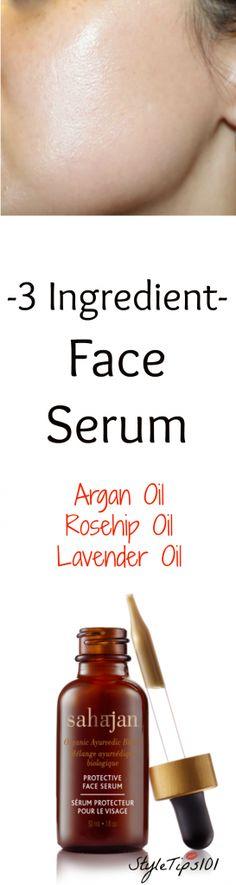 Serum for Beautiful Skin: This DIY face serum benefits all skin types #suona