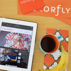 Colorfly Home Inspiration in orange. #colorflyhome