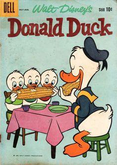 Walt Disney's Donald Duck, August, 1960, No. 72