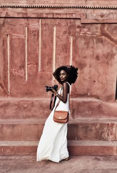 The Claremont leather camera bag and travel crossbody. Designed by Lo & Sons - - Black Girl Magic, Black Girls, Black Women, Beauty Dish, Leather Camera Bag, Black Girl Fashion, Fashion Women, Foto Pose, Poses