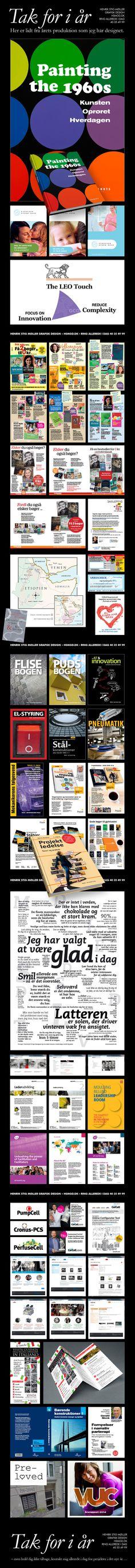 Her er lidt fra årets produktion som jeg har designet. #grafisk #design #graphic  http://hsmgd.dk/tak-for-i-aar.aspx