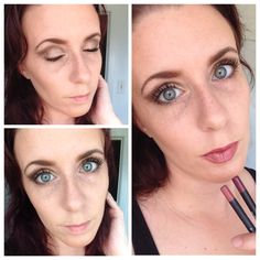 Seriously can't get enough of Younique's new cream shadows!! I can do a bronze eye in no time flat with Confident mineral pigment and Elegant cream shadow!! Then I saw a GORGEOUS lip done with Pompous and Pouty precision pencils that I just had to try!! Click on the pic to shop for yours! Splurge Cream Shadow, Lip Liner, Younique, Confident, Shadows, Minerals, Eyeliner, Lips, Bronze