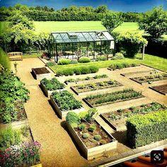 Veg Garden, Vegetable Garden Design, Potager Garden, Plan Potager, Garden Farm, Asian Garden, Home Garden Design, Garden Cottage, Garden Beds