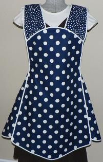 Similar to 1940s Apron I made but with panels.