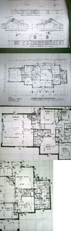 Building Plans and Blueprints 42130 #06-149 1-Story And Bonus O - new blueprint for 3 car garage