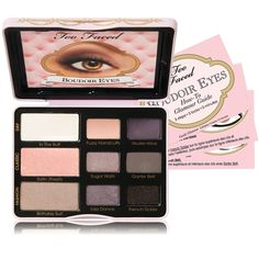 $36.00 Go from natural eyes to sexy dramatic eyes with this versatile palette! Tips on makeup @ KissableComplexions.com