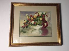 Jane Peterson watercolor still life floral Luxury Sale, Art Market, Still Life, Invitations, Etsy Shop, Watercolor, Group, Board, Handmade Gifts