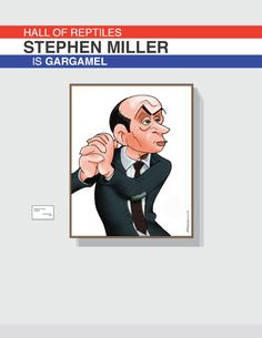 Stephen Millier is Gargamel