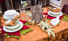 Home & Family - Tips & Products - Amy Sewell's Simple & Elegant Holiday Tablescapes | Hallmark Channel
