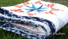 This quilt - Spangled - is beautiful!