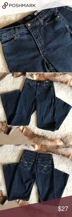 NYDJeans Dark Wash Size 6 Cute dark wash high waisted. From a pet and smoke free home NYDJ Jeans Straight Leg