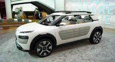Citroen Says Production C4 Cactus will Keep Concept's Airbumps and Sofa-Style Front Bench - Carscoops