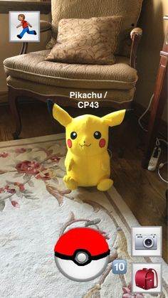 Canadians trying to create a Pokemon Go while they wait for it to come out. I actually have that plushie!