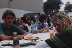 Smells Like Teen Spirit Nirvana Video Shoot Kurt Cobain 1991 ( RARE PIC )