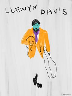 """""""Inside Llewyn Davis"""" illustation by mareykrap Illustration Sketches, Illustrations And Posters, Drawing Sketches, Graphic Illustration, Art Drawings, Wow Art, Colorful Drawings, Art Journal Inspiration, Designs To Draw"""