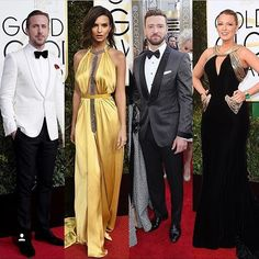 Who was the best dressed at last night's Golden Globe Awards? #goldenglobes2017 #beverlyhills #celebrities #stylists #designers #instagram