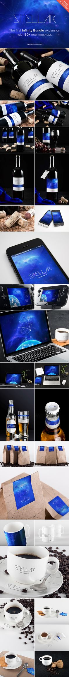 Stellar Mockups Bundle | GraphicBurger