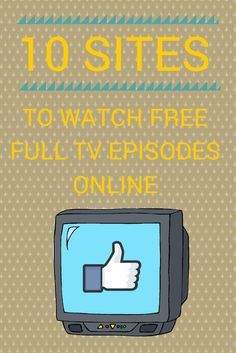 10 Sites to Watch Free TV Shows Online (Full Episodes) Ellie Marquez - freetime. Watch Free Tv Shows, Free Shows, Movies To Watch Free, Free Tv Shows Online, Free Movies Online Websites, Tv Hacks, Movie Hacks, Smartphone, Simple Life Hacks