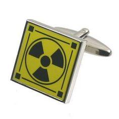 Radioactive Cufflinks