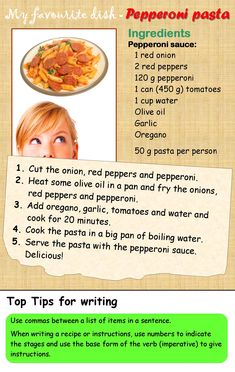 A recipe | LearnEnglishTeens