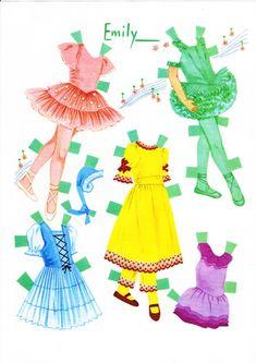 Sharon's Sunlit Memories: Whitman Ballet Paper Dolls No. 1962 (1966)