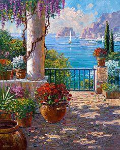 Bob pejman _ Garden Terrace 24x30