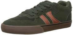 GLOBE Encore-2, Men's Skateboarding Shoes Skateboarding Shoes, Green (Forest Green/Tobacco 19992), 10 UK (44.5 EU): Amazon.co.uk: Shoes & Bags Surf Wear, Adidas Samba, Globes, Skateboarding, Trainers, Adidas Sneakers, Amazon, Green, 1970s