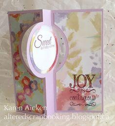 Altered Scrapbooking: Cupcake Joy Flip-It Birthday Card