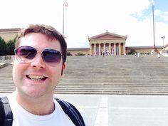 Rocky steps in Philadelphia, USA