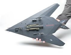 Stealth Aircraft, Stealth Bomber, Fighter Aircraft, Military Aircraft, Fighter Jets, Armas Airsoft, Air Force Bomber, Airplane Fighter, Model Hobbies