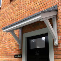Ullswater GRP Door Canopy & Over my front door with the bulkier trim raising up in front of ... Pezcame.Com