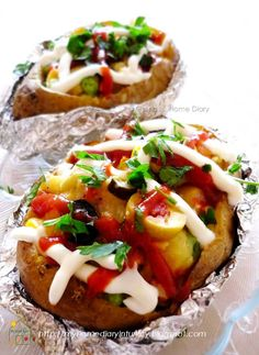 Kumpir / Turkish style Stuffed Baked Potato. You can vary the stuffing according to your taste, mostly are sausage, sweetcorn, olive, some pickles, some vegetables mix with cheese. Served hot, fresh from oven with ketchup and mayonnaise make this food become popular and everybody choice. Here I give you my recipe how to make it at home so you can experience Turkish taste in your dinner table. #kumpir #Turkishfoodrecipe #resepmasakanturki #streetfood #turkishstreetfood #potato…