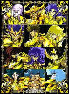 Saint Seiya Golden saints