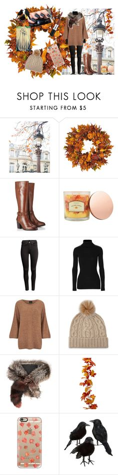 """❀Fall 2015❀"" by buddyames on Polyvore featuring Nearly Natural, Lipsy, Sonoma life + style, H&M, Autumn Cashmere, VILA, Sofia Cashmere, Marni and Casetify"