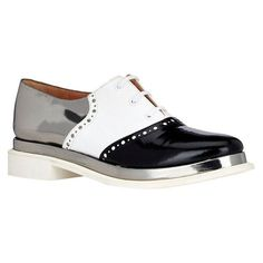 Robert Clergerie multicolored flash oxfords