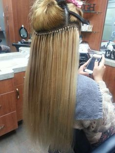 Cold fusion hair extensions by TRUbeauty
