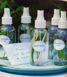 All natural mists