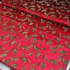 #red #back #tulip #flower #brocade #silk #hangzhou #fabric #zhejiang #china