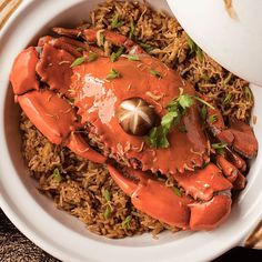This month, try Seafood Specials at Passion. You can start with this Live King Crab served with rice in a hot pot, good for 4 persons. Resorts World Manila, Hot Pot, Seafood, Rice, Passion, Canning, Sea Food, Home Canning, Laughter