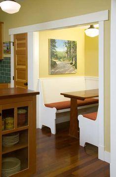 Manzanita Breakfast Nook The Bungalow Company Bungalow - Craftsman bungalow kitchen breakfast nooks