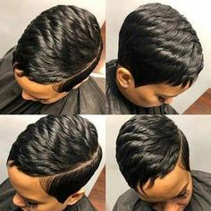 Fina 089 Pixie Boycuts Layered Super Short Straight Wig For Black Women Short Pixie Haircuts, Short Hairstyles For Women, Straight Hairstyles, Braided Hairstyles, Curly Pixie, Black Hairstyles, Asian Hairstyles, Teenage Hairstyles, Long Pixie